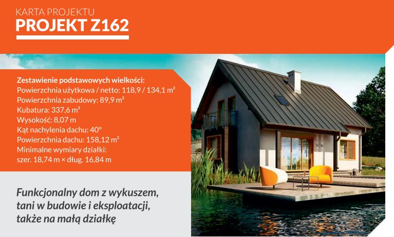 Z162: tani w budowie dom drewniany