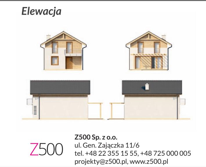 Projekt Z38 - elewacja