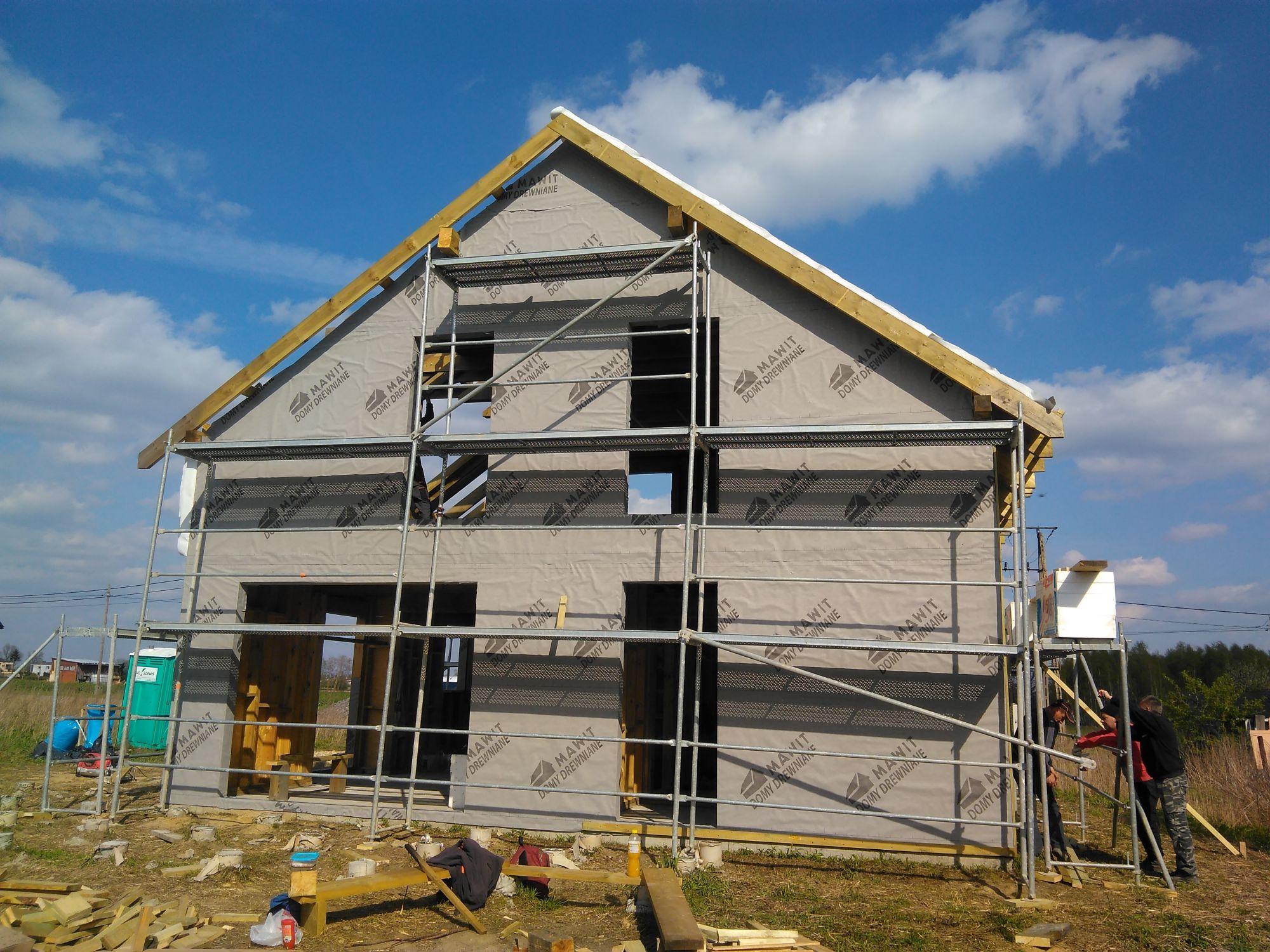 Całoroczne domki drewniane - konstrukcja
