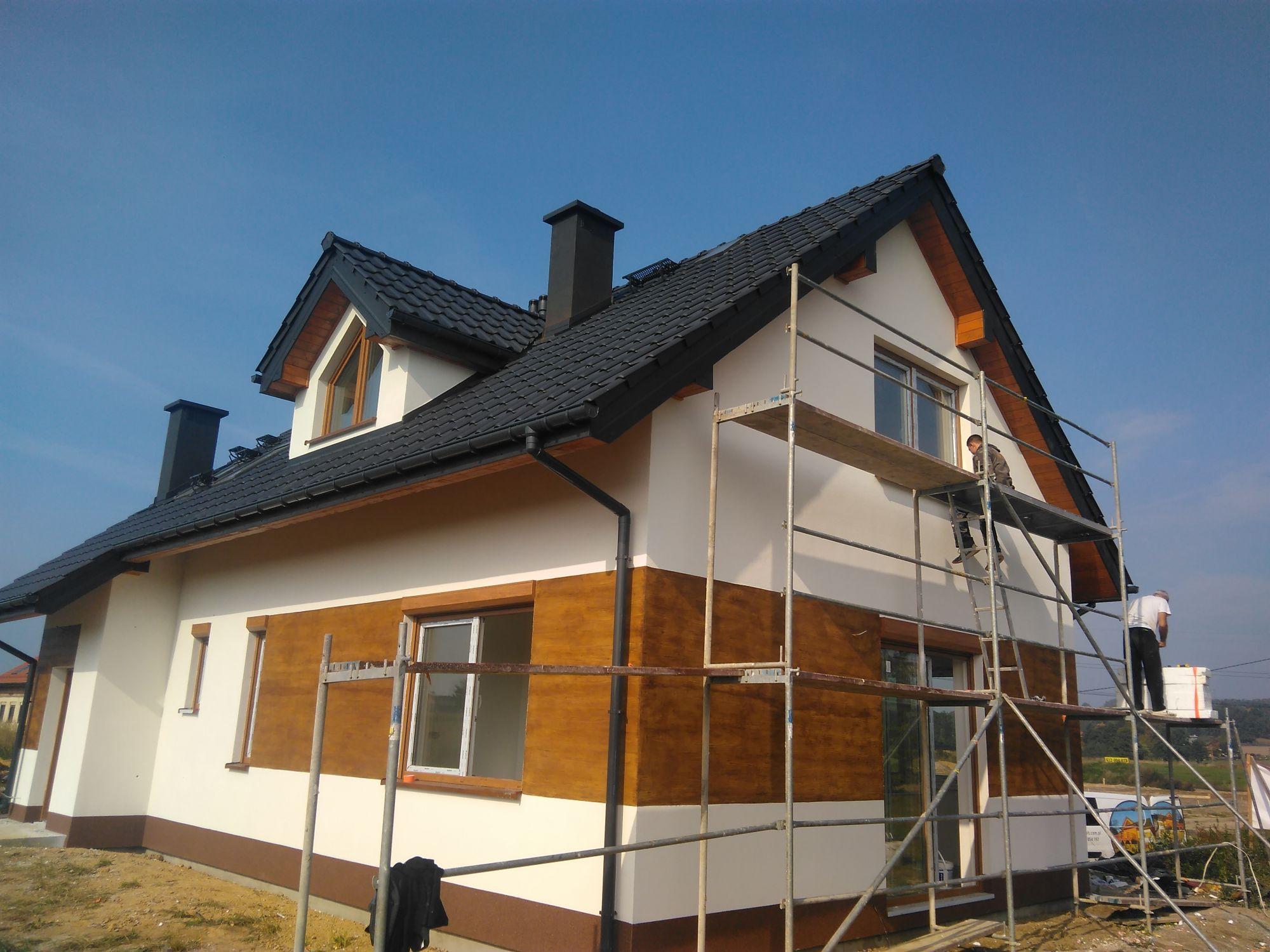 Domy drewniane całoroczne pod klucz