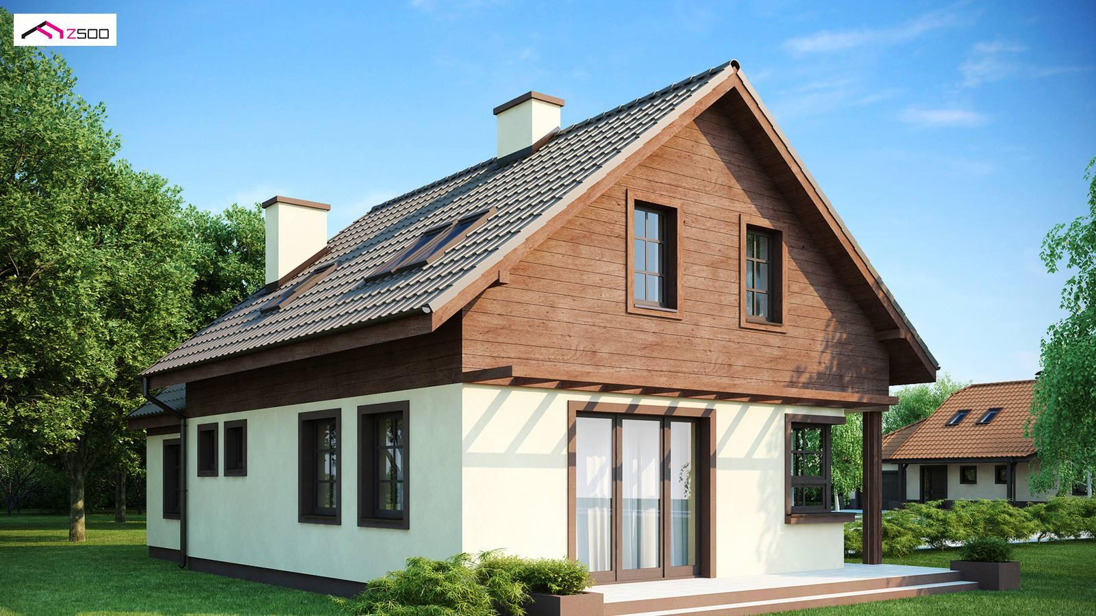 tanie domy z drewna całoroczne